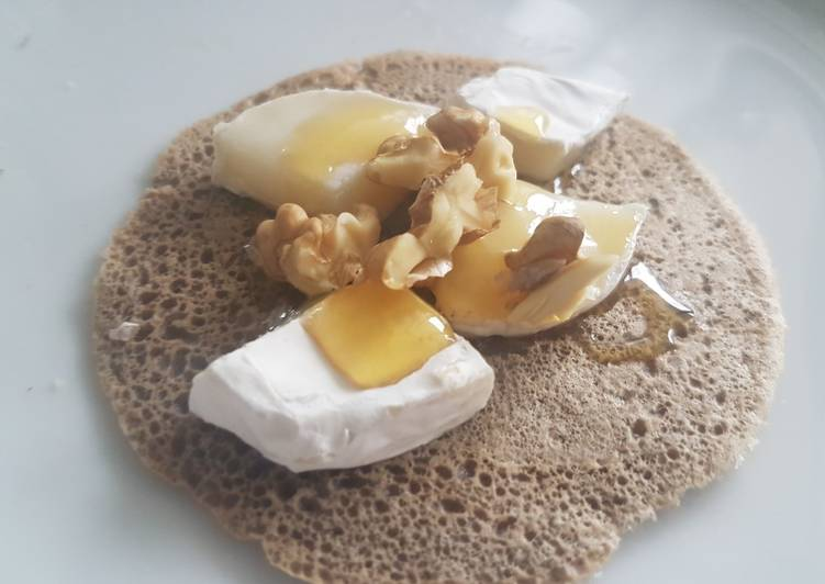 Crêpe bretonne au sarrasin