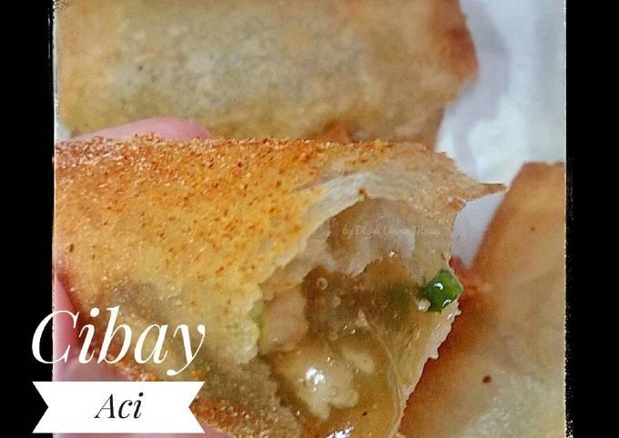 Resep Cibay Aci Ngambay Isi Ayam Oleh Diyah Kuntari Cookpad