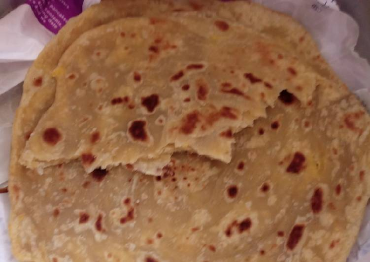 Pumpkin chapati