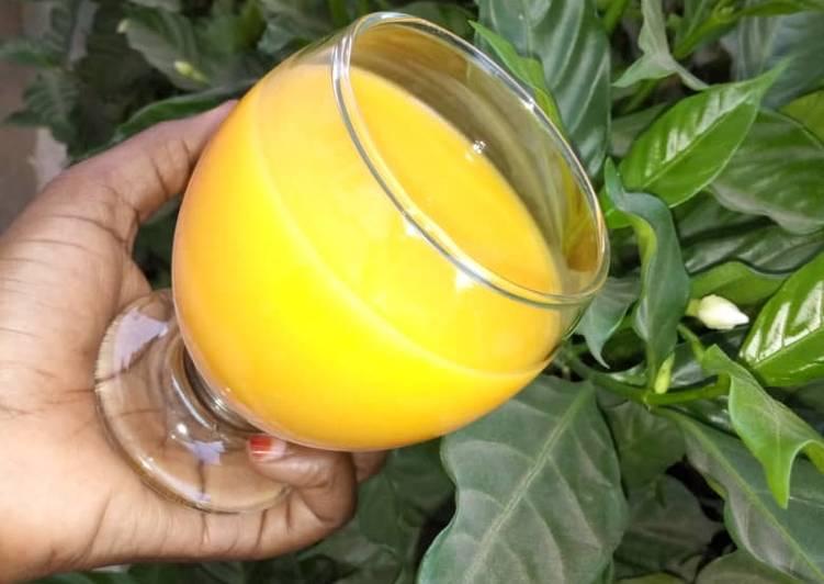 Recipe of Award-winning Mango juice