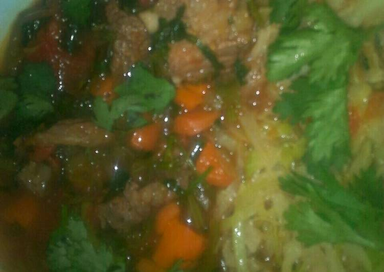 Deciding On The Best Foods Can Help You Stay Fit As Well As Healthy Beef stew and fried cabbage