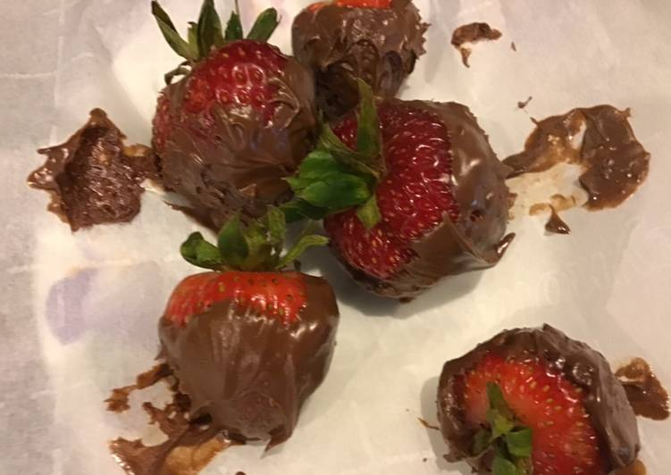 Soft Chocolate Strawberries