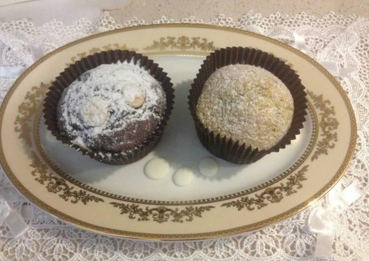 Ricetta Muffin al pistacchio e al cioccolato