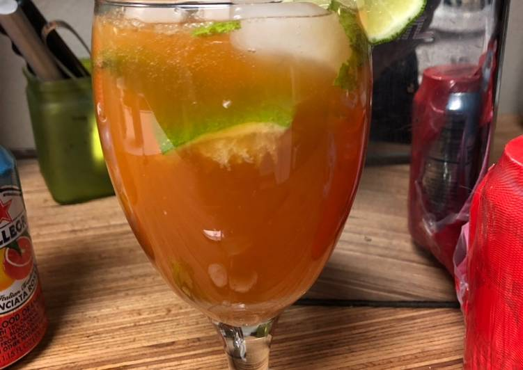 Blood Orange Mojito for Grammy
