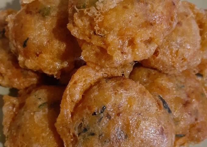 Perkedel kentang tanpa daging