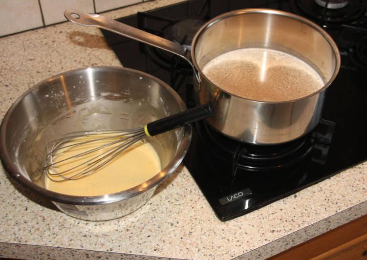 La crème pâtissière à la vanille