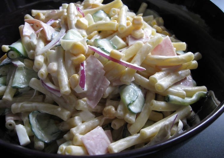 Recipe of Award-winning Japanese Macaroni Salad