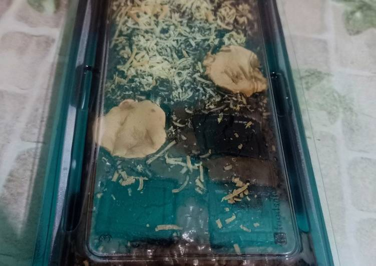 7 Resep: Brownies panggang shiny crust Anti Gagal!
