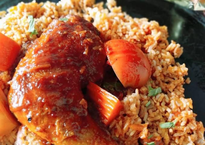 Ayam Masak Merah abah