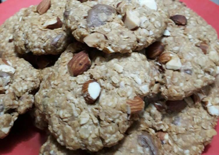Oat peanut butter cookies