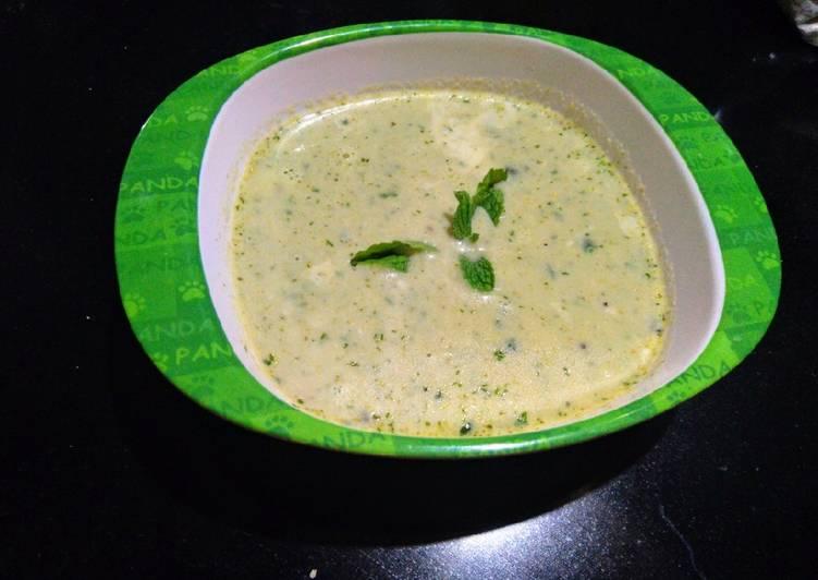Easiest Way to Make Award-winning Broccoli soup
