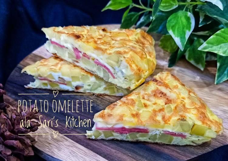 Potato Omelette ala Sari's Kitchen