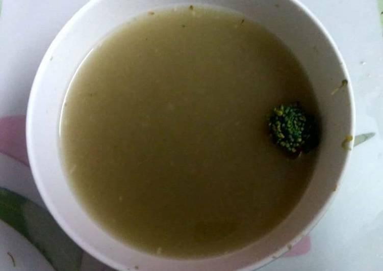 Hari bhari bahar - veg soup