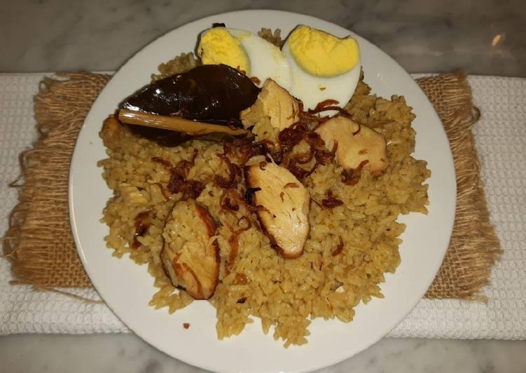 Nasi Gurih Ayam Panggang
