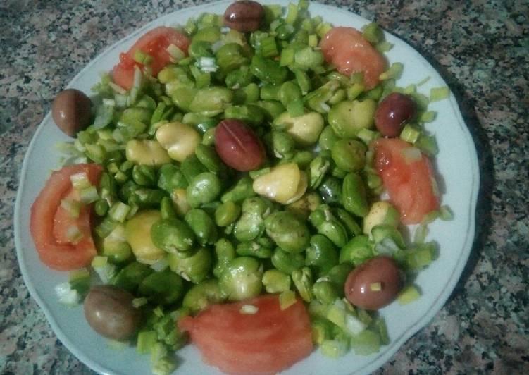 Salade des fèves