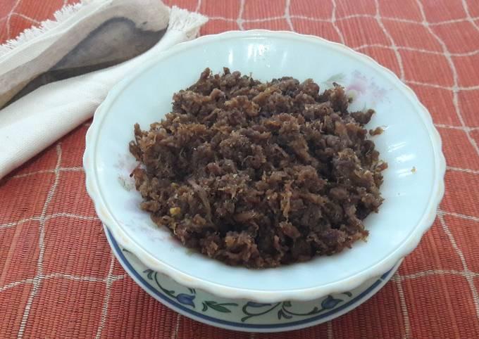 Daging abon Sapi 😚😚#kita berbagi