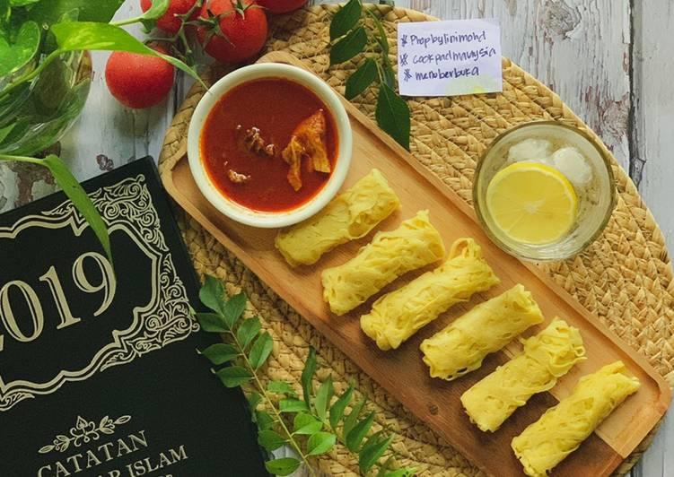 Roti Jala Istimewa bersama Kari Ayam #phopbylinimohd #menuberbuka - velavinkabakery.com