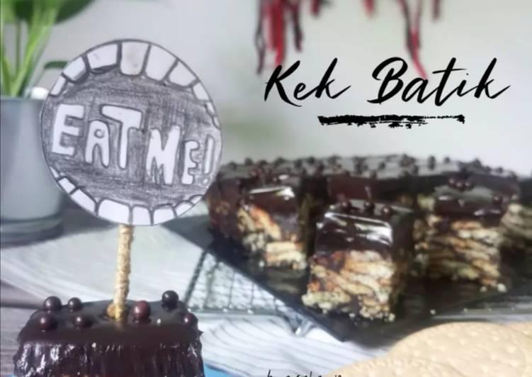 Resepi:  [Bonus] Kek Batik Melting  Terbaru