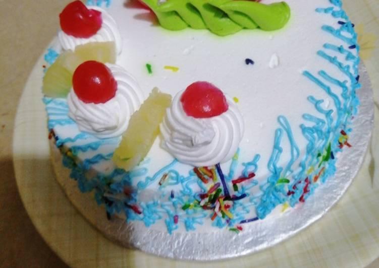 Recipe of Homemade Rainbow Sponge Cake