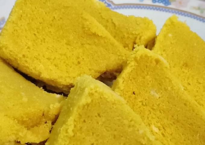 Resep Bolu kukus mangga Anti Gagal