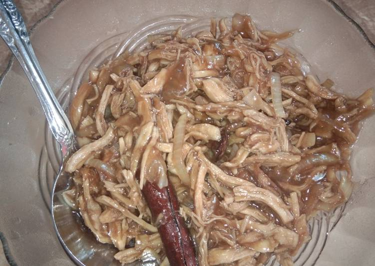 Resep Ayam suwir isian bakpao Bikin Ngiler