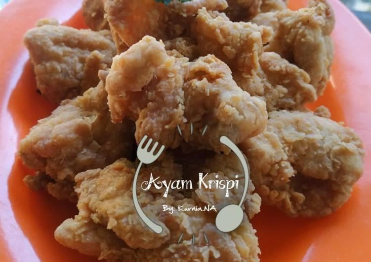 Ayam Krispi Simple
