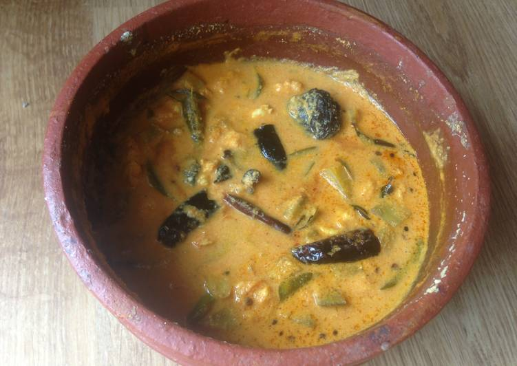 Recipe: Perfect Chemeen Manga Curry