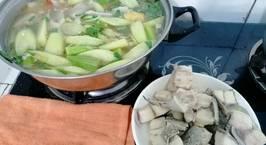 Hình ảnh món Cá bóp nấu canh chua kiểu Vũng Tàu