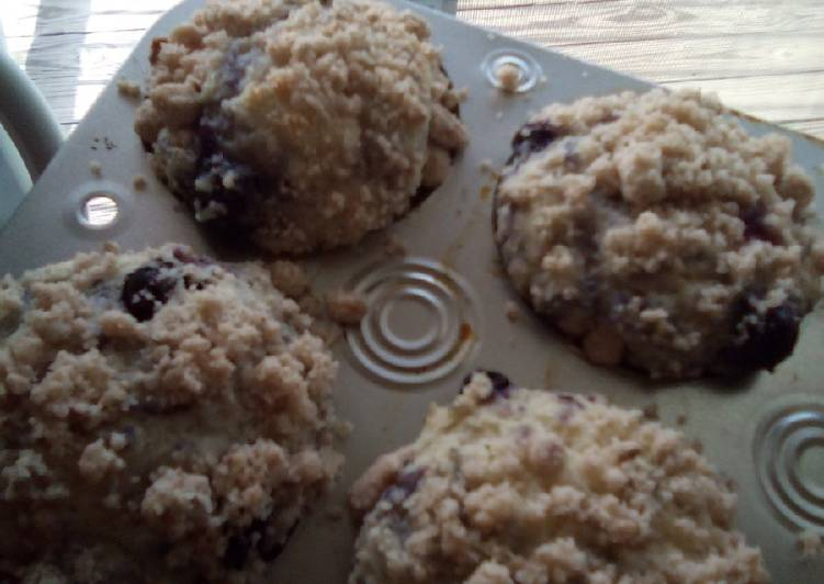 Dine These 15 Superfoods to Go Green for Great Health, Blueberry muffins