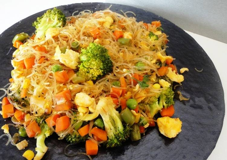 Stir-Fried Rice Vermicelli
