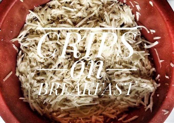 Crips on breakfast
