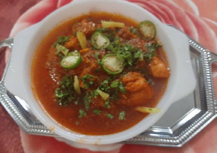 Chicken BBQ karahi