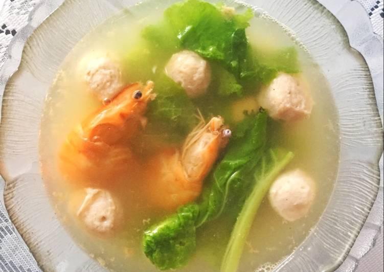 10 Resep: Sup Bakso Seafood Sehat Untuk Pemula!