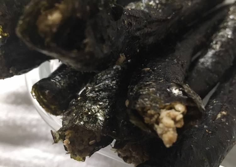 Recipe: Tasty Keto Friendly Nori Energy Sticks