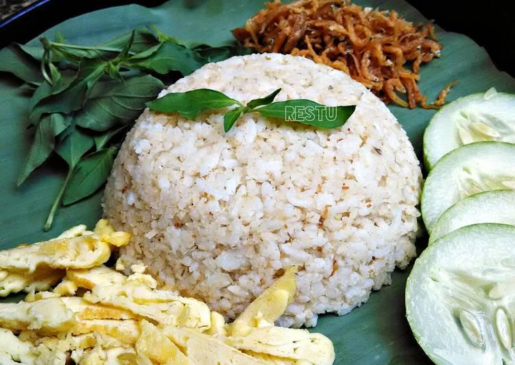 Sego Ulam Krawu (Nasi Krawu Sederhana)