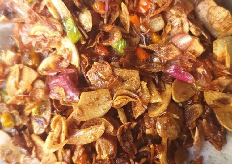 Sambal Bawang Goreng (sambal mbe)