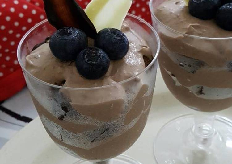 Chocolate Brownie Mousse
