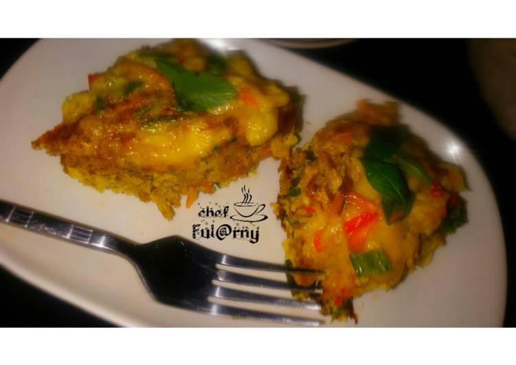 """Steps to Make Ultimate Baked egg's with cheese by salma.s.Adam ( ful@rny""""ss kitchen"""