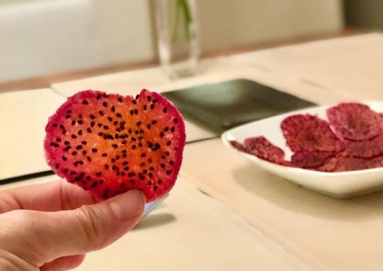 Dragonfruit chips