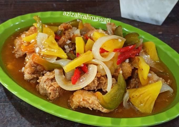 Ayam Kuluyuk/koloke/asam manis