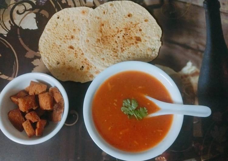 Steps to Prepare Super Quick Homemade Tomato Soup