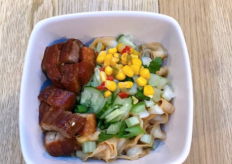 Recipe of Quick Japanese style braised pork