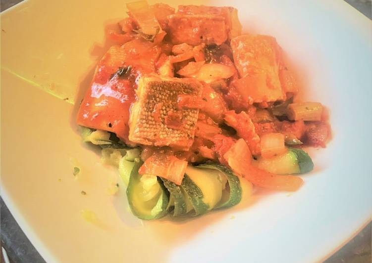 How to Make Yummy Salmon Pasta & Courgetti