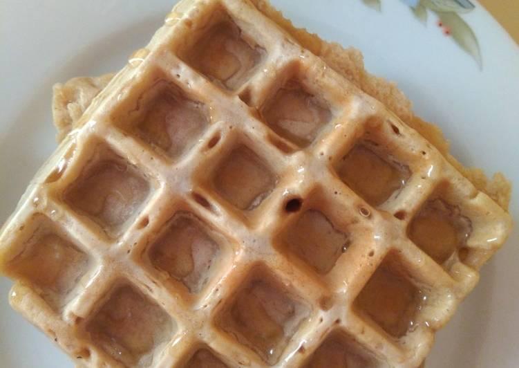 Waffles (saludables) de avena