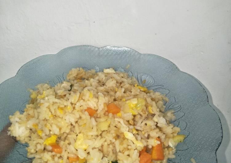 Spesial nasi goreng sayur