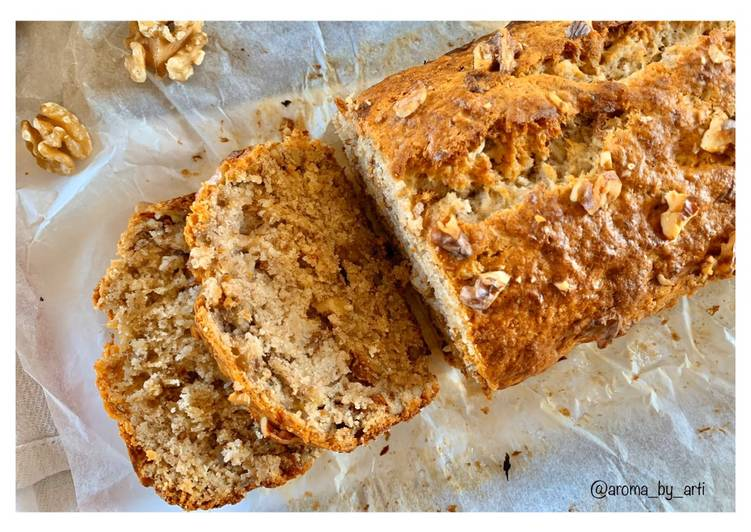 Low-fat vegan banana bread