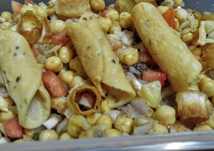 How to Boost Your Mood with Food Chat pata chana chaat 😋