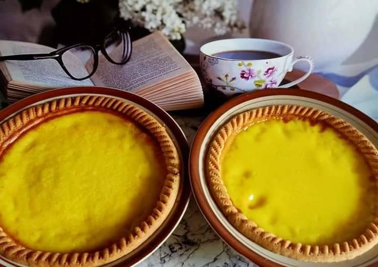Resep Kue Lontar (Pie Susu Sederhana) Paling Enak