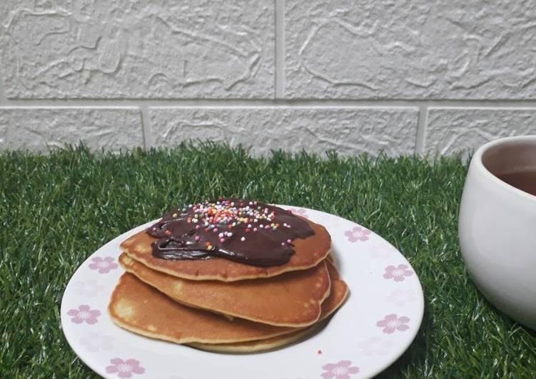 Pancake Mini pakai Cuka Beras