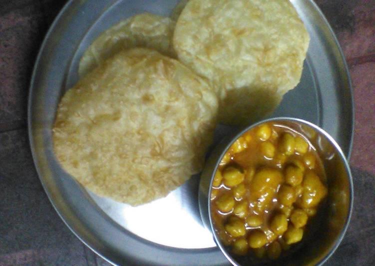 Chana poori /